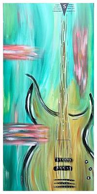 Fish Painting - Chords by Allison's Gallery