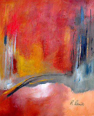 Abstrac Painting - Chosen Path by Ruth Palmer
