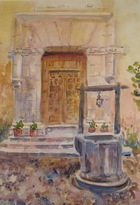 Chris Coloh House Well Art Print by Joyce Kanyuk