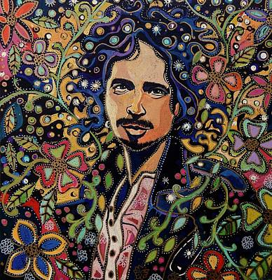 Soundgarden Painting - Chris Cornell by PA Mathison