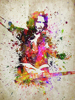 Chris Rock Digital Art - Chris Cornell Portrait by Aged Pixel
