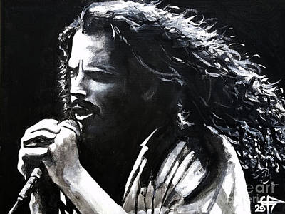 Painting - Chris Cornell by Tom Carlton