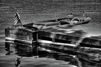 Black And White Photograph - Vintage 1958 Chris Craft Continental by David Patterson