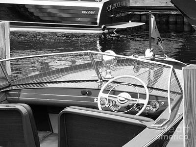 Photograph - Chris Craft Utility by Neil Zimmerman