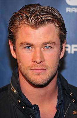 Chris Hemsworth In Attendance Art Print
