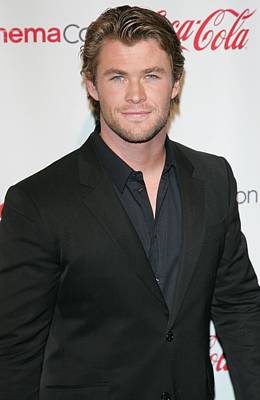 Caesars Palace Photograph - Chris Hemsworth In Attendance For 2011 by Everett
