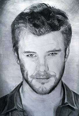 Chris Hemsworth Drawing Drawing - Chris Hemsworth by Kirsty Willcox