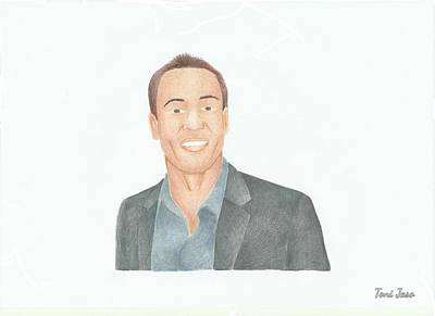 Chris Klein Art Print