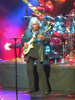 English Rock Groups Photograph - Chris Squire Yes by Donna Wilson