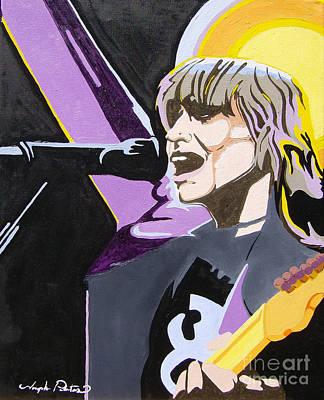 Painting - Chrissie Hynde  by Joseph Palotas