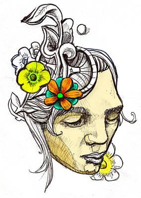 Chrissy Art Print by John Baker