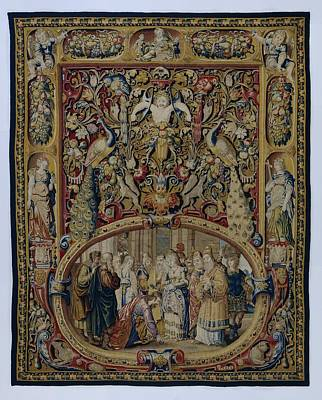Tapestry - Textile - Textile Tapestry Christ And The Woman Taken In Adultery by R Muirhead Art