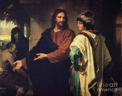 Christ At 33 Art Print by MotionAge Designs