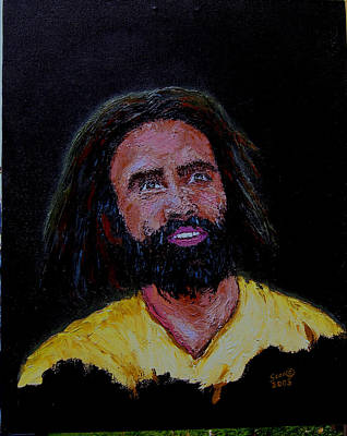 Painting - Christ At Night by Stan Hamilton