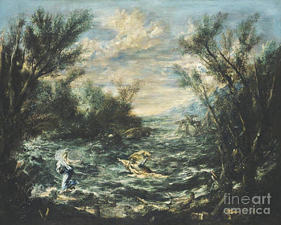 Painting - Christ At The Sea Of Galilee by Celestial Images