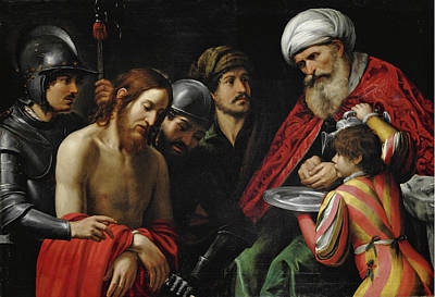Christ Before Pilate Painting - Christ Before Pilate by Leonello Spada