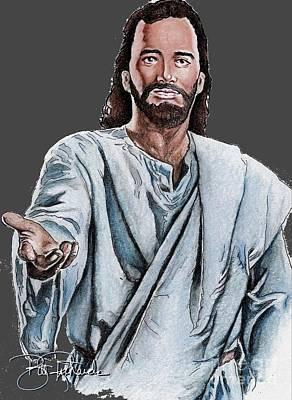 Christ Original by Bill Richards