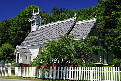 Photograph - Christ Church Alert Bay by Inge Riis McDonald