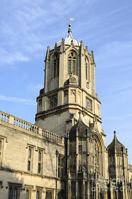 Photograph - Christ Church College by Michael  Winters