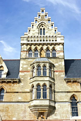 Photograph - Christ Church College Oxford Architecture by Terri Waters