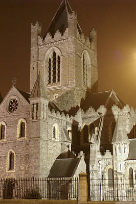 Christ Church Dublin Ireland Art Print