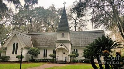 Christmas Trees - Christ Church by Katherine W Morse