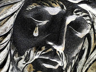 Photograph - Christ Composite by Ed Weidman