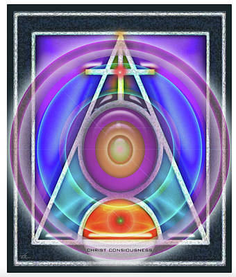 Digital Art - Christ Consciousness by Larry Rice