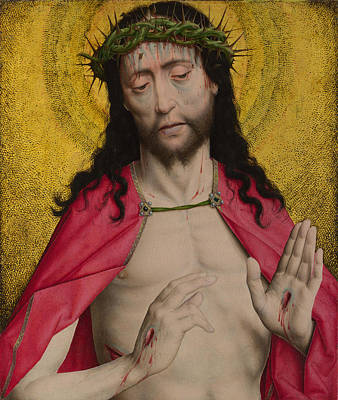 Digital Art - Christ Crowned With Thorns by Dirk Bouts