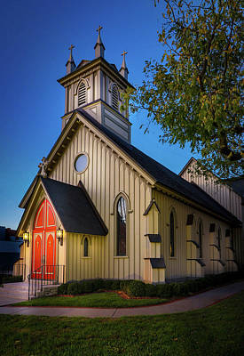 Photograph - Christ Episcopal Church by Allin Sorenson