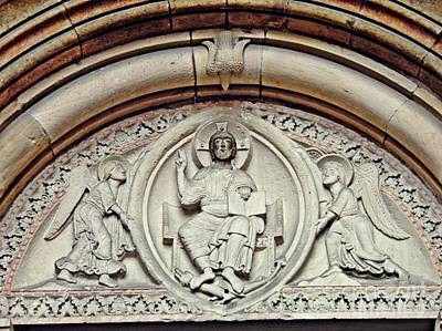 Jesus Christ Relief Photograph - Christ In Glory by Sarah Loft