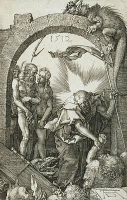 Relief - Christ In Limbo by Albrecht Durer