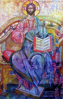 Christ In Majesty II Original by Tanya Ilyakhova