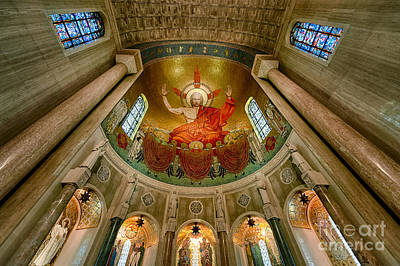 Immaculate Photograph - Christ In Majesty by John Greim