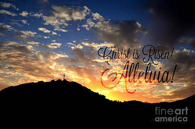 Christ Is Risen Art Print