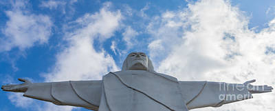 Photograph - Christ Of The Ozarks Pano by Jennifer White