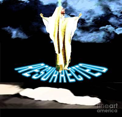 Painting - Christ Resurrected by Belinda Threeths