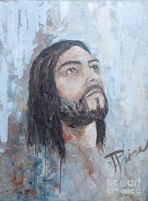 Painting - Christ Resurrected King by Julie Clanton
