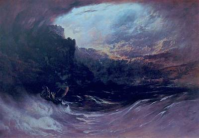 Painting - Christ Stilleth The Tempest by John Martin