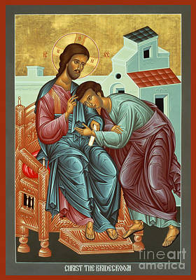 Painting - Christ The Bridegroom - Rlctb by Br Robert Lentz OFM