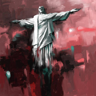 Holy Art Painting - Christ The Redeemer 429.2 by Mawra Tahreem