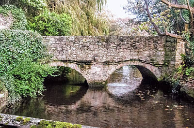 Photograph - Christchurch - Bridge Over The Millstream by Phyllis Taylor