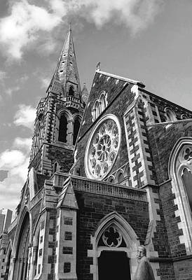 Photograph - Christchurch Cathedral by Karen Lewis