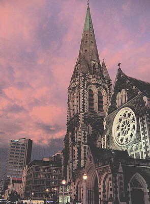 Photograph - Christchurch I by Rose Cowperthwaite