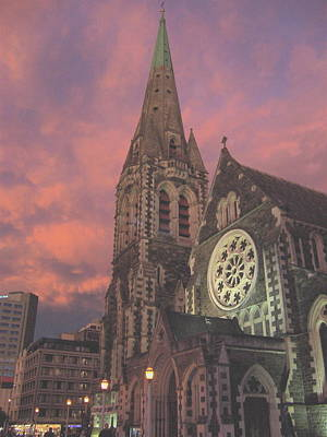 Photograph - Christchurch II  by Rose Cowperthwaite