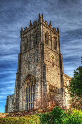 Photograph - Christchurch Priory Bell Tower by Chris Day