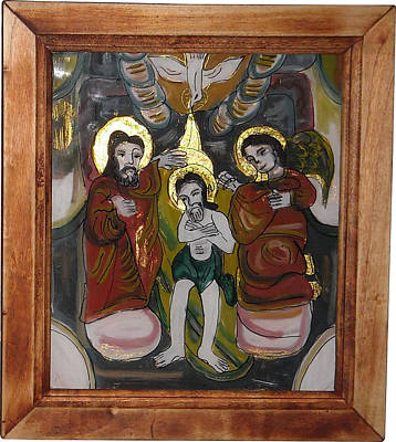 Draculafrom Painting - Christening by I S B family