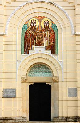 Christian Church Print by Boyan Dimitrov