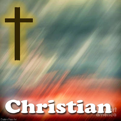 Photograph - Christian Logo by Debbie Portwood