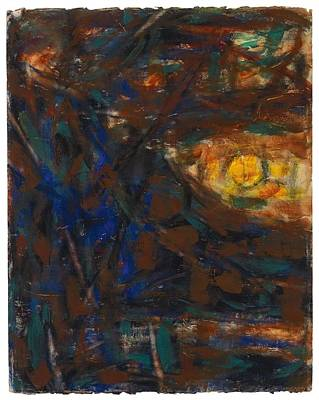 People Painting - Christian Rohlfs, Mond, Baume, Berge by Christian Rohlfs